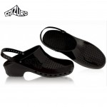 Calzuro Clogs Black with heel-straps