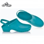 Calzuro Clogs Green Mint with heel-straps