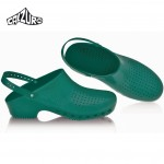 Calzuro Clogs Green with heel-straps