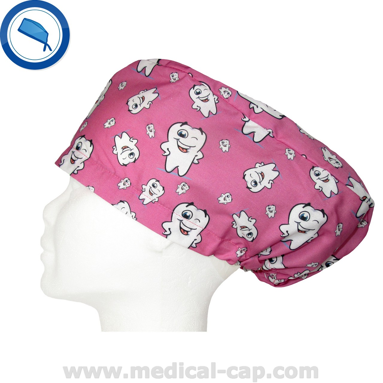 21152282f4e Surgical Cap for dentists in Pink – Women