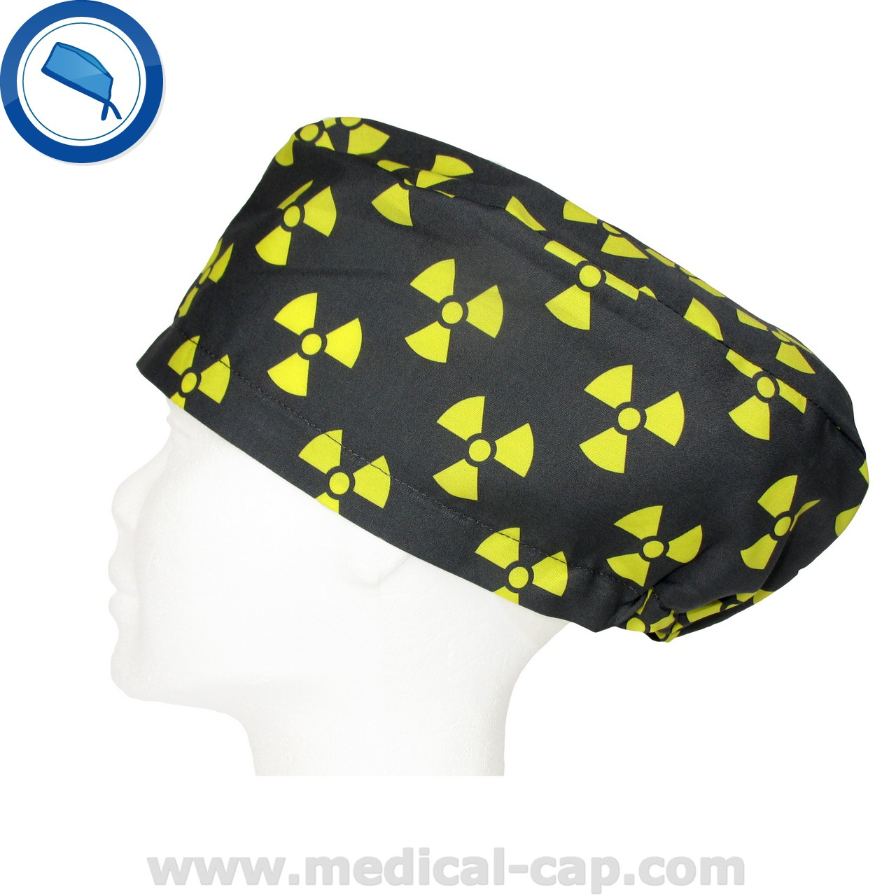 c2fc0613542 Radiologists Cap Radiation symbol black