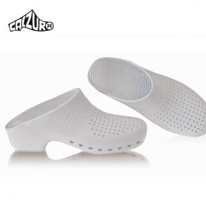 Calzuro Clogs White