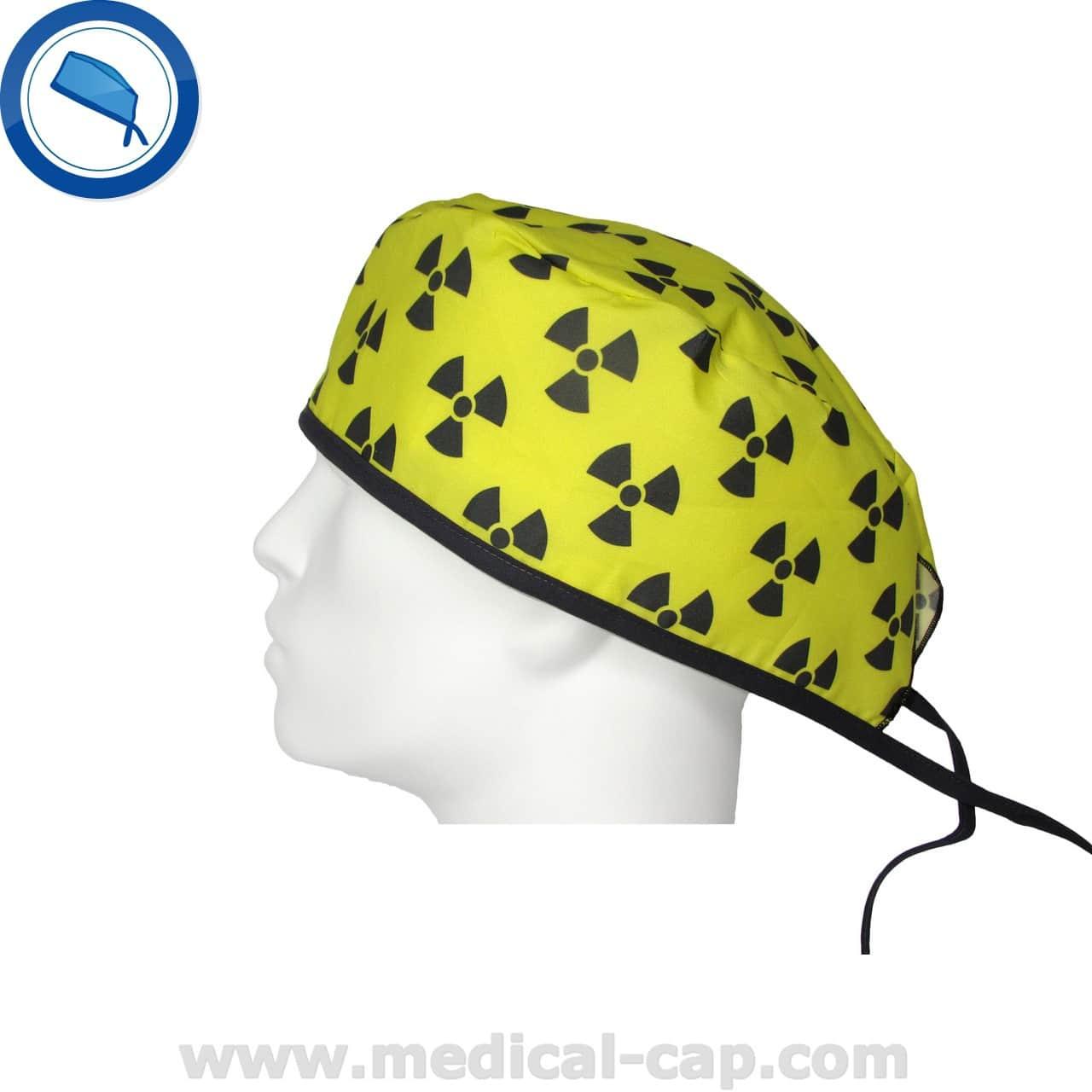 9ecae652ec1 Radiologists Cap Radiation symbol yellow – Man